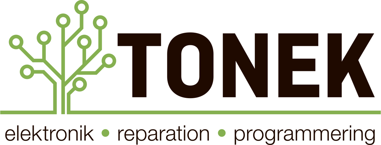 Tonek | elektronik – reparation – programmering